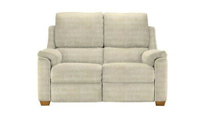 Parker Knoll 2 seater Albany manual reclining sofa in A Willow Cream