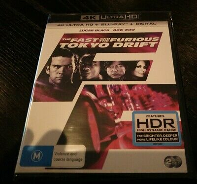 The Fast and the Furious Tokyo Drift 4K Ultra HD Brand New & Sealed