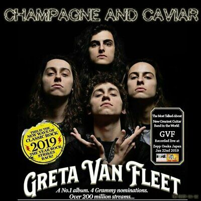 Greta Van Fleet. 2019. Champagne And Caviar. Cd.