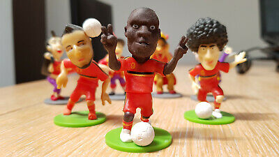 Figurines FIFA Diables rouge Red Devils 2014 - 7 pcs collection figure World Cup