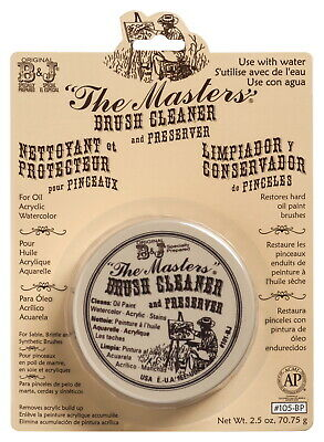 The Masters Non-Toxic Water Soluble Brush Cleaner, 2.5 oz