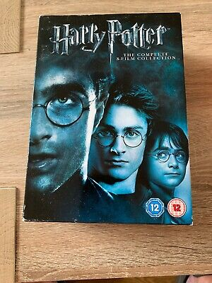 Harry Potter - The Complete Collection 1-8 Dvd Bundle