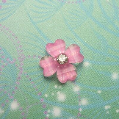 New Clover Flower For Pendant -  Candy Pink