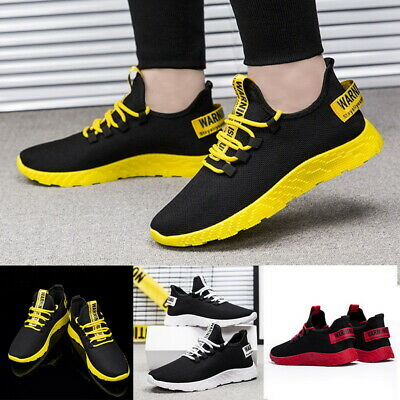 Mens Shoes Casual Sports Sneakers Comfy Athletic Running Breathable Shoes