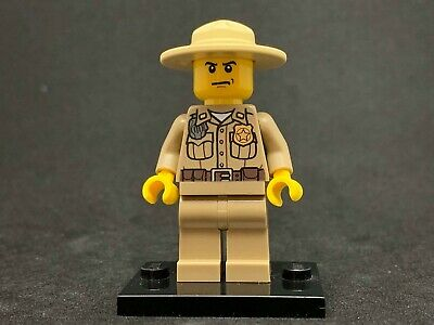 NEW NEUF Le scientifique Lego City cty789 Minifig figurine