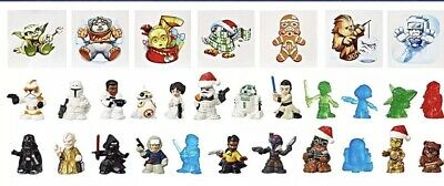 24 Figurines (4 Exclusive)  NIB SEALED Star Wars Micro Force Advent Calendar