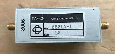 Crystal Filter 30 MHz CF, 1 kHz BW approx SMA