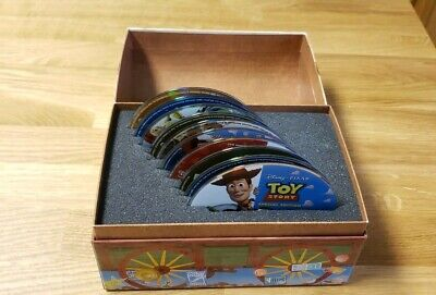 Toy Story 1, 2, 3 ULTIMATE Toy Box Collection (BLU-RAY/DVD/No digital)