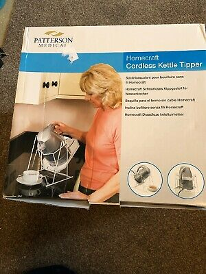 HOMECRAFT Cordless Kettle Tipper  (Boxed with instructions)