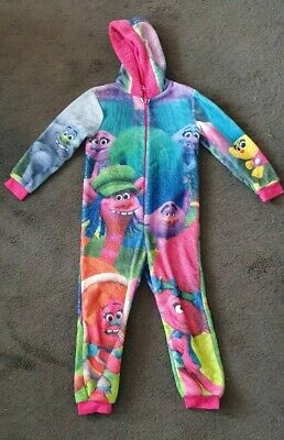 Girls Trolls All in One suit 7-8 yrs