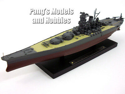 IJN BATTLESHIP YAMATO 1/1250 Scale Diecast Metal Model Ship by Atlas