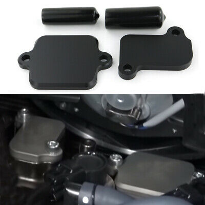 Machined Smog Block Off Plate For Yamaha MT09 FZ09 FJ09 Tracer YXZ1000R XSR900