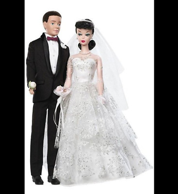 Barbie Collector 1959 My Favorite Couple Wedding Day Barbie and Ken GiftSet