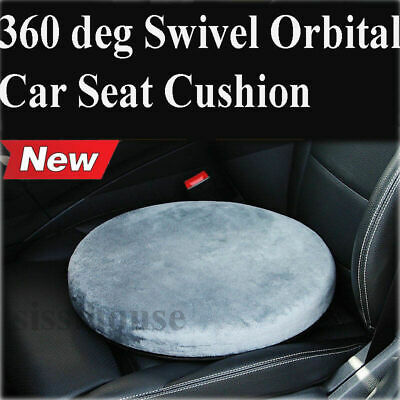 360° Swivel Seat Cushion for Car Home Office Caravan Chair ELDERLY Mobility Aid