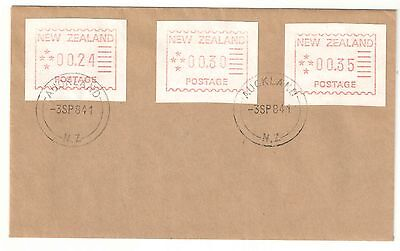 New Zealand 1984 First Frama Trial Issue on First Day Cover