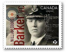 2019 Canada 🍁 WILLIAM BARKER 🍁 Canadians In Flight Series - MNH Single Stamp