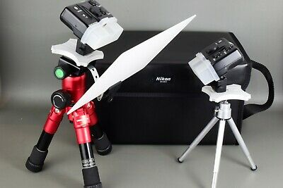 NIKON R1 WIRELESS CLOSE-UP SPEEDLIGHT iTTL SYSTEM MACRO FLASH KIT + 2 TRIPODS 2