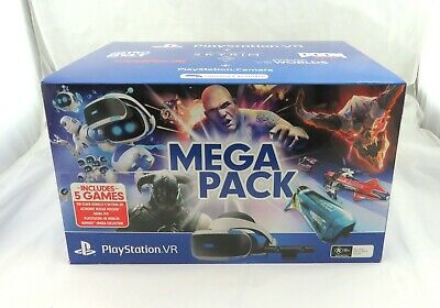 Playstation 4 VR Head Set Mega Pack 5 VR Store Voucher Codes CUH-ZVR2
