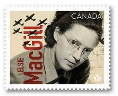 2019 Canada 🍁 ELSIE MACGILL 🍁 Canadians In Flight Series - MNH Single Stamp