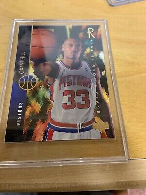 1994 95 Upper Deck 157 Grant Hill Bgs 85 Nm Mt Detroit