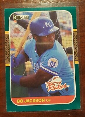 1987 Donruss Rated Rookie Bo Jackson Rc Royals 35 Pack