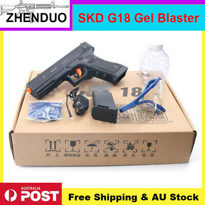 Electric SKD G18 Gel Ball Gun Toy Blaster Water Bullets Mag-fed Toys AU Stock