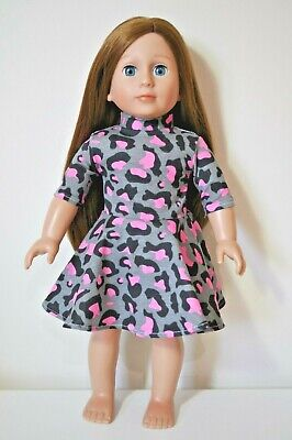 """American Girl Dolls Our Generation Journey 18"""" Doll Clothes Skater Dress Only"""