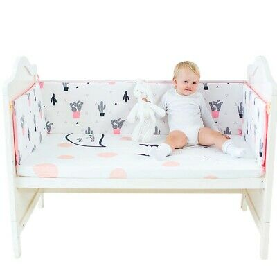 Baby Bedding Crib Bumper Infant Bed Cot Safety Child Protector Cushion Nursery