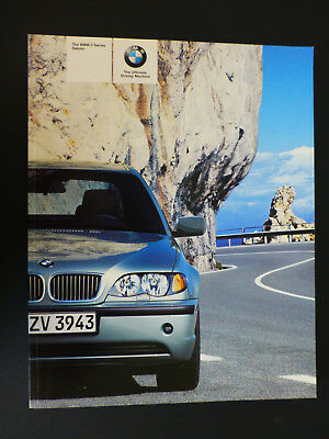 The Bmw 3 Series E46 2004 Saloon Sales Brochure