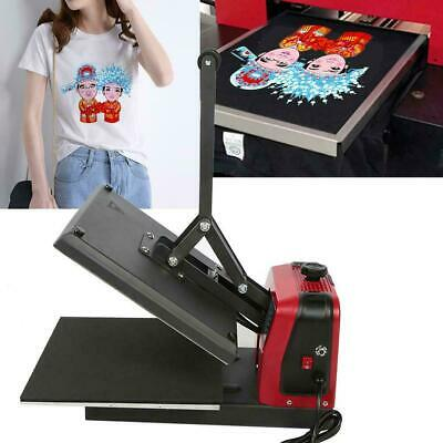 T-shirt Mug Hat Plate Heat Press Machine Sublimation Printing Transfer DIY