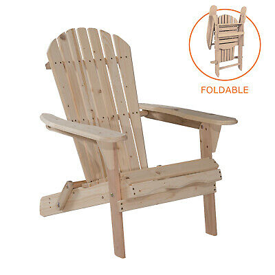Awesome Wood Adirondack Chair W Ottoman Outdoor Patio Deck Garden Cjindustries Chair Design For Home Cjindustriesco