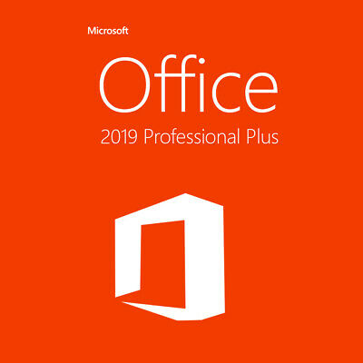 Microsoft Office 2019 Pro-Plus Genuine Lifetime License for PC Windows