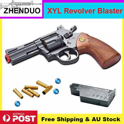 XiaoYueLiang 357 Revolver Gel Ball Blaster Gun Water Bullets Dart Toy AU Stock
