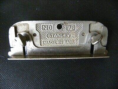 Vintage Stanley Eng No 79 Double Sided Rebate Plane With Fence (608)