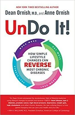 Undo It!: How Simple Lifestyle Changes Hardcover  by Dean Ornish M.D. Dementia