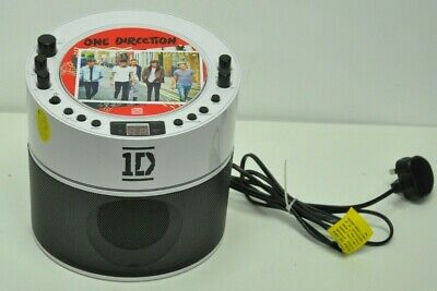 One Direction CD Player and Karaoke Machine