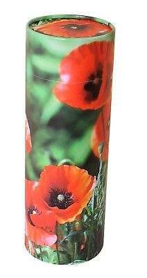 PEACE LILIES LARGE Cremation Ashes Urn Ashes Scattering Tube UU800001A