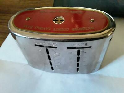 Antique Steel Wealthometer Coin Bank Patents ???