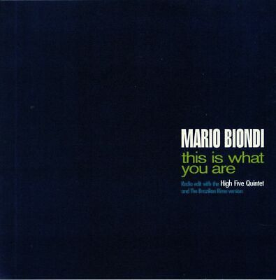 "BIONDI, Mario - This Is What You Are - Vinyl (7"")"