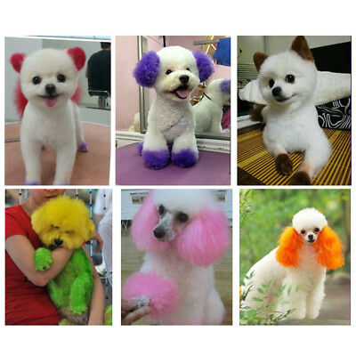 PET DOG HAIR DYE GEL Semi-permanent, completely non-toxic and safe ...