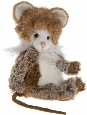 NEW Charlie Bears Munchkin Mouse 2017 Plush Collection Jointed Teddy Bear Toy