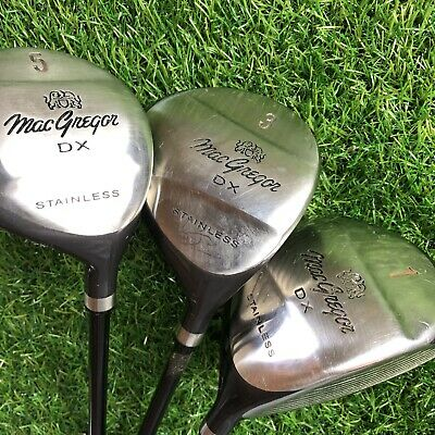 MacGregor DX1 Wood Set / Aldila Ultralight Graphite Shafts