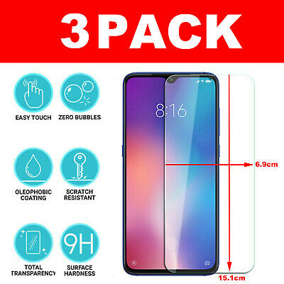 GORILLA-TEMPERED GLASS FILM SCREEN PROTECTOR FOR Xiaomi Redmi Note 7 Clear