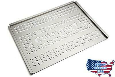 Cuisinart CGT-301 Stainless Steel Grill Topper, 12 x 16-Inch, New, Free Ship