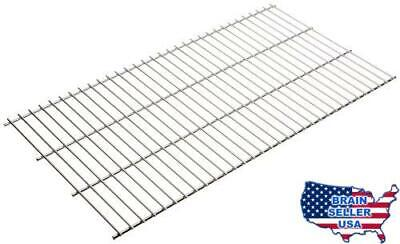 Rome's 126 Pioneer Grate, Chrome Plated Steel, 12.5-Inch x 24-Inch, New