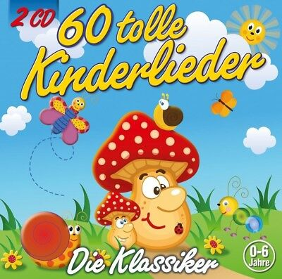 Kiddy Club - 60 Tolle Kinderlieder   2 Cd Neu