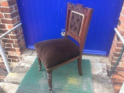 Antique Side Chair,Bedroom Chair,dining Chair,Edwardian,Victorian