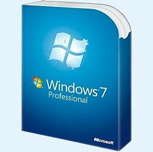 Microsoft Windows 7 Pro Professional 64 Bit Retail Box Version, New, Sealed