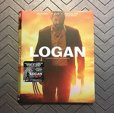 Logan (Blu Ray Slipcover Only) NO DISCS INCLUDED