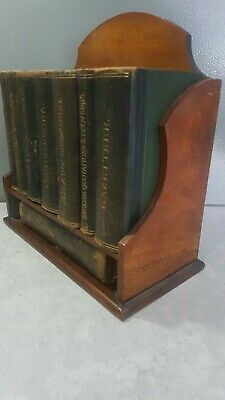 Rare Vintage Asprey Of London 1921 Desk Top Reference Library